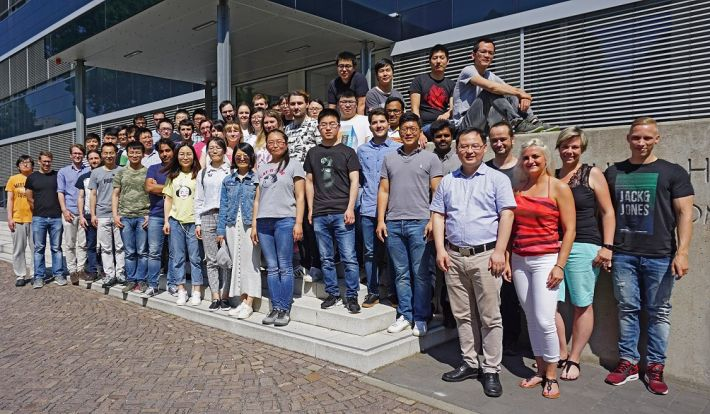 cfaed Chair for Molecular Functional Materials - Group Photo