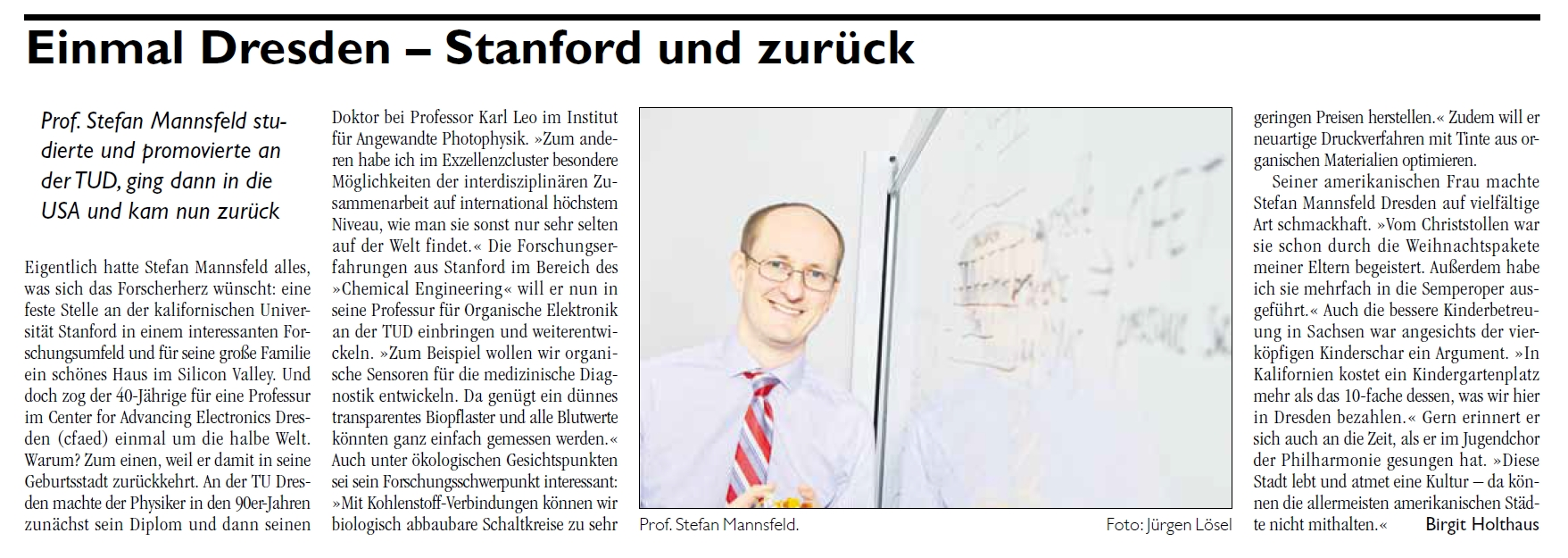 article prof. mannsfeld