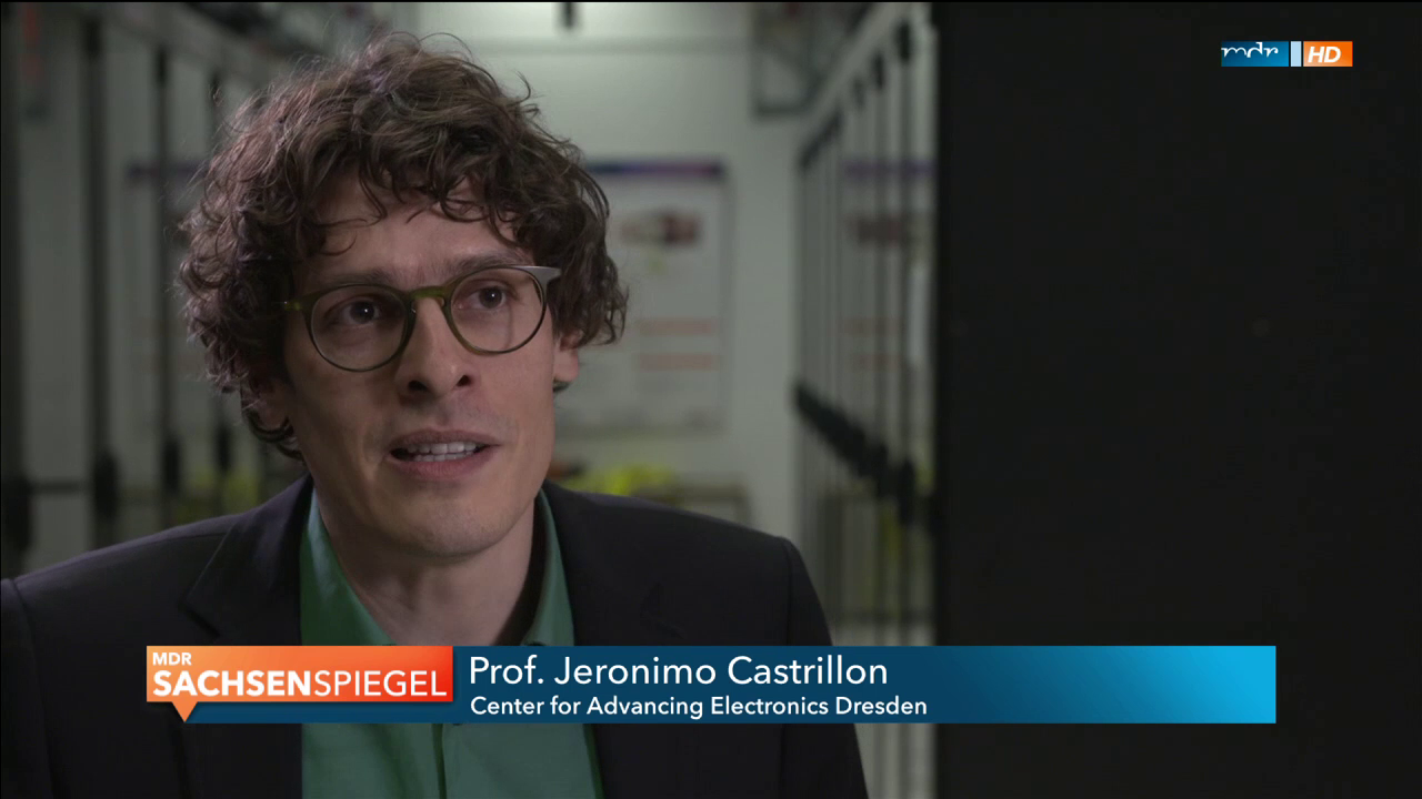 TV screenshot Prof. Castrillon